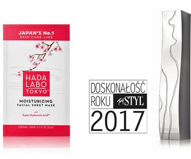 """Doskonałość roku 2017 """"Twój STYL"""" dla Hada Labo Tokyo"""