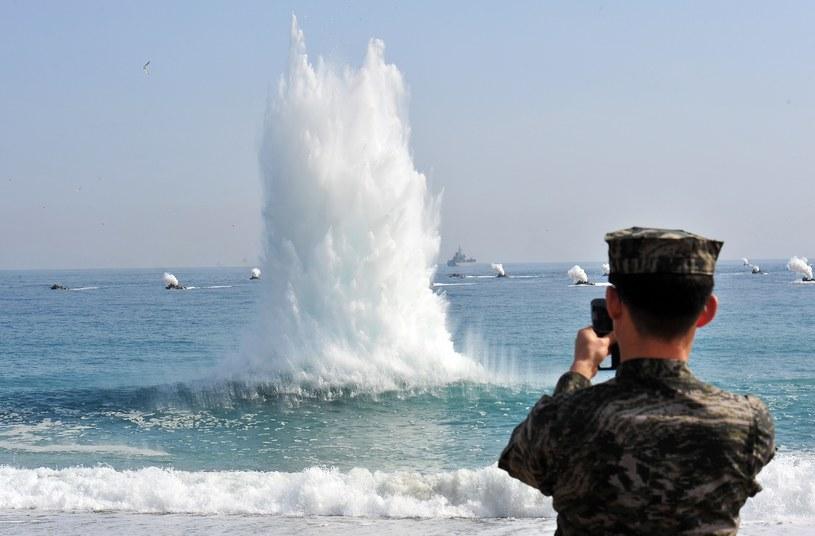 Doszło do wymiany ognia między Koreami /AFP