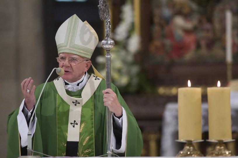 Dotychczasowy metropolita łódzki abp Marek Jędraszewski został mianowany przez papieża Franciszka nowym metropolitą krakowskim /Marian Zubrzycki /Agencja FORUM