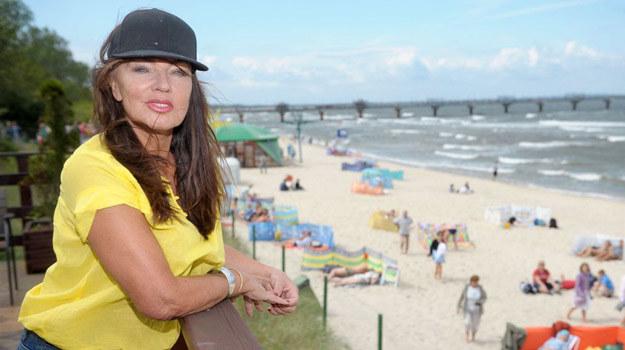 Dowiedzieliśmy się, że Agnieszka Perepeczko zaplanowała swoją wizytę w Warszawie na październik /- /Agencja W. Impact