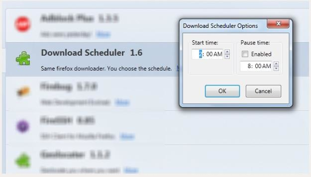 Download Scheduler dla Firefoksa /gizmodo.pl