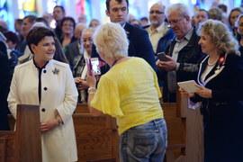 Doylestown: Premier Szydło na mszy świętej w tzw. amerykańskiej Częstochowie