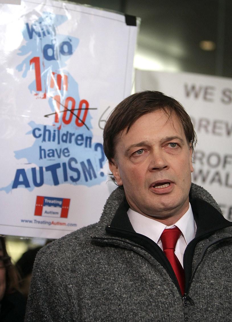 Dr Andrew Wakefield dał początek ruchowi antyszczepionkowemu /Peter Macdiarmid /Getty Images