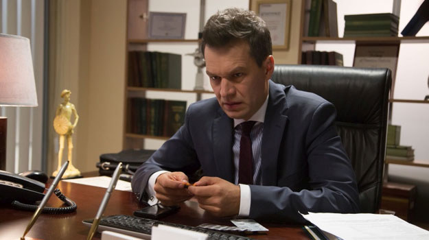 Dr Andrzej Falkowicz (Michał Żebrowski) /Agencja W. Impact