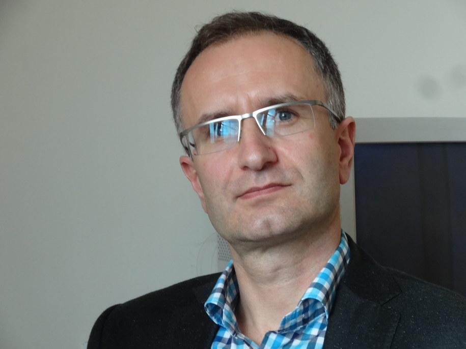 Dr hab. Wojciech Branicki z Wydziału Biochemii, Biofizyki i Biotechnologii UJ /Grzegorz Jasiński /RMF FM