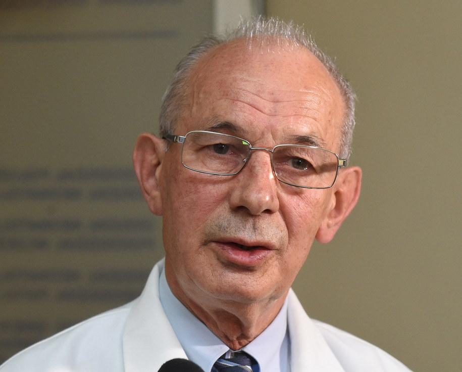 Dr n. med. Janusz Malinowski /Radek Pietruszka /PAP