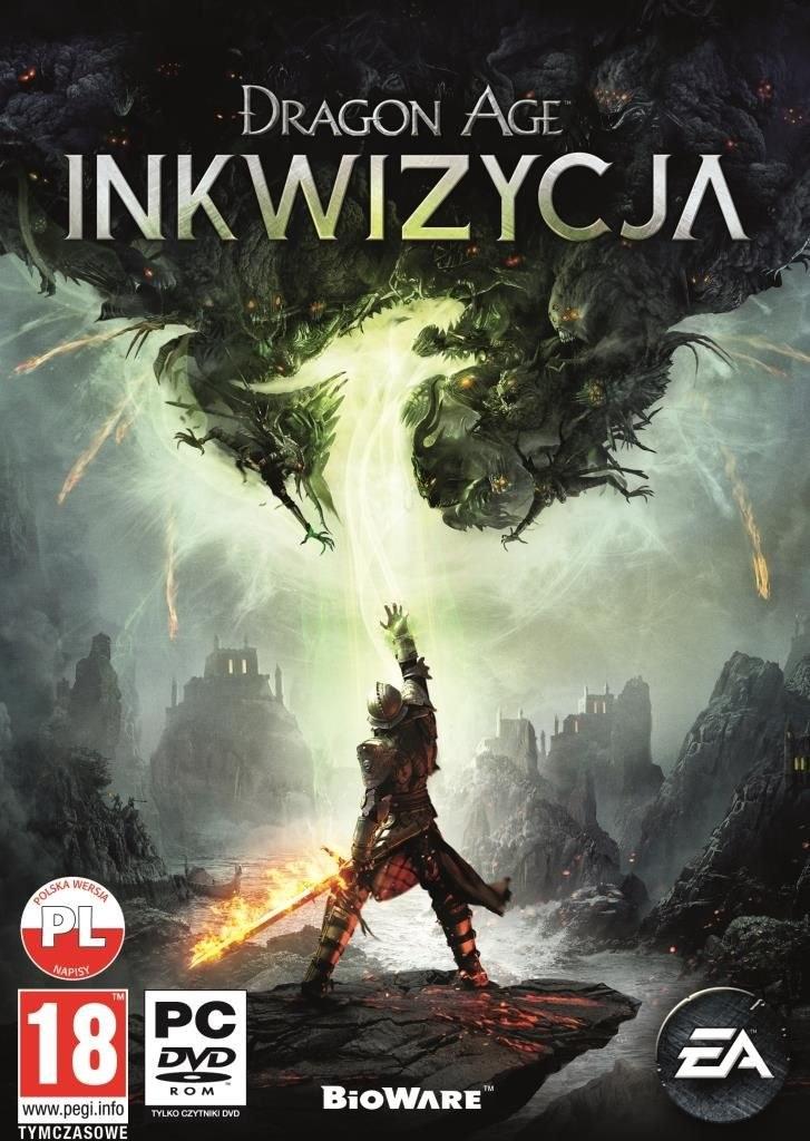 Dragon Age: Inkwizycja - polska okładka gry /materiały prasowe