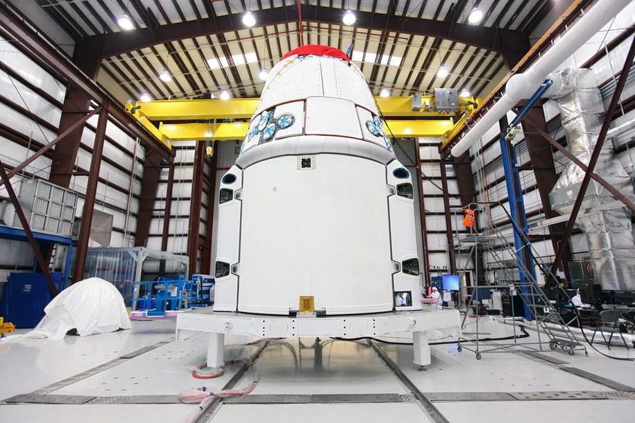 Dragon /NASA/Kim Shiflett    /PAP/EPA
