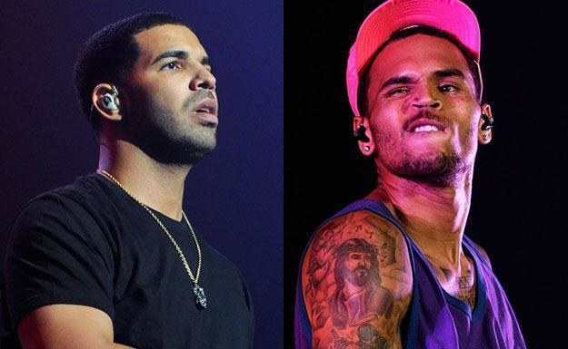 Drake (fot . Ethan Miller) i Chris Brown (fot. Brendon Thorne) zapłacą fortunę? /Getty Images/Flash Press Media