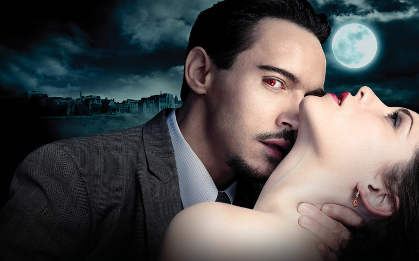"""""""Drakula"""": Czy Van Helsing (Thomas Kretschmann) zdoła unicestwić najsłynniejszego wampira (Jonathan Rhys Meyers), pozostanie tajemnicą. /NBC /materiały prasowe"""