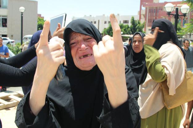 Dramat mieszkanców Synaju trwa /AFP