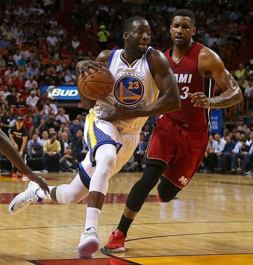 Draymond Green z Golden State Warriors /AFP