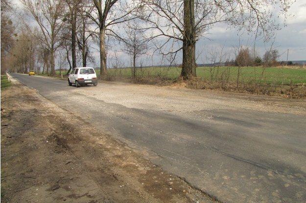 Droga 704 pomiędzy Brzezinami a Kołacinem. /RMF