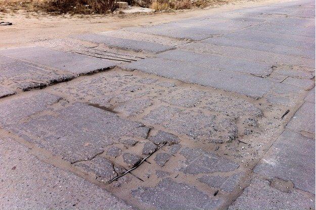 Droga dojazdowa do miasteczka Wilanów /RMF