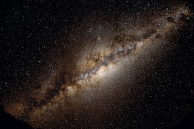 Droga Mleczna łopocze jak flaga na wietrze /NASA