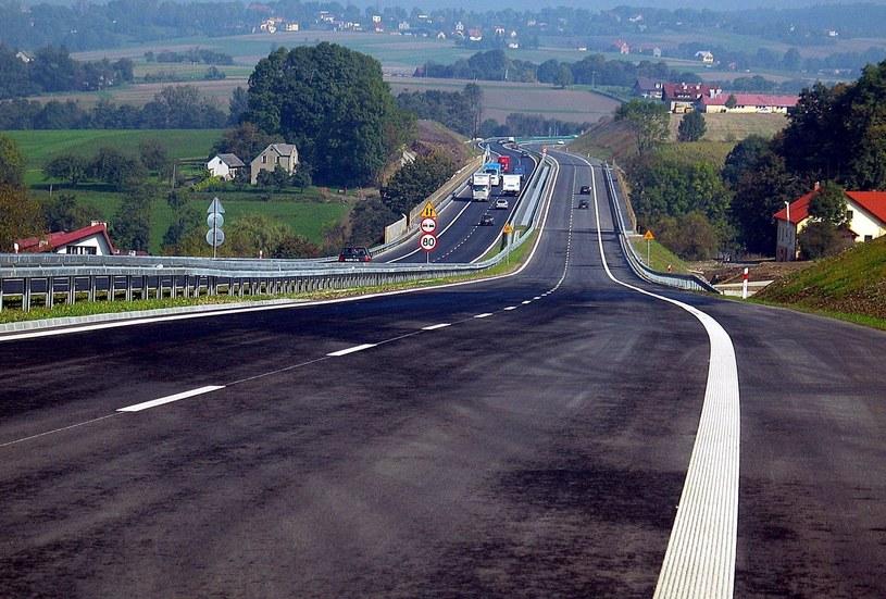 Droga S1 w pobliżu granicy z Czechami /Krzysiek Oremus /Agencja SE/East News
