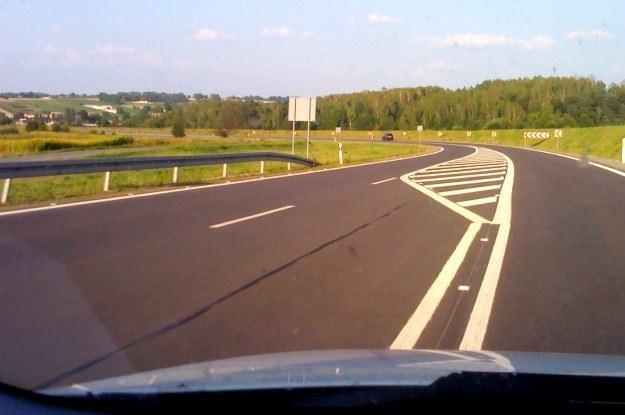 Droga typu 2+1 /INTERIA.PL