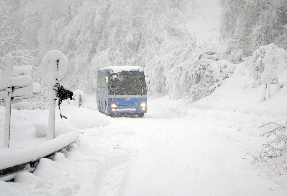Droga w okolicach włoskiej Pistoia /LUCA CASTELLANI /PAP/EPA