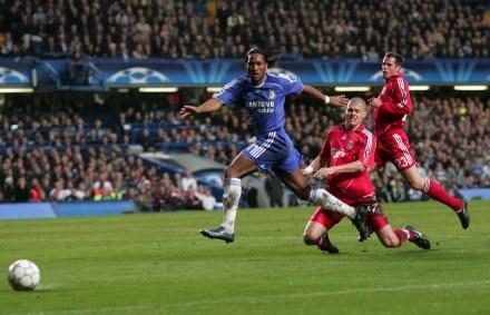 Drogba strzelił dwa gole dla Chelsea /AFP