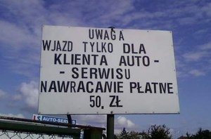 Drogie zawracanie /poboczem.pl
