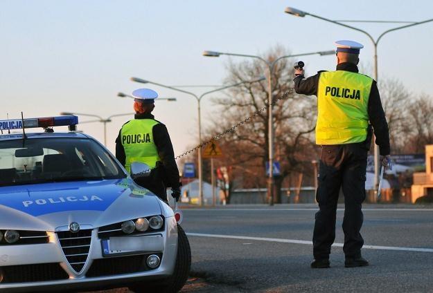 Drogówka ma swoje sposoby naciągania kierowców / Fot: Paweł Skraba /Reporter