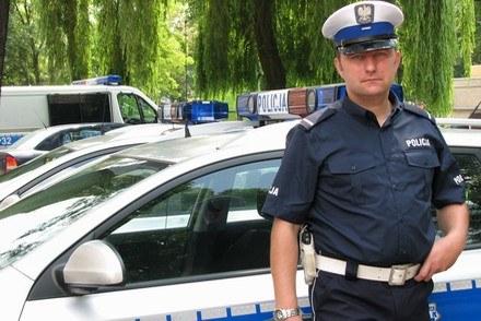 Drogówka w nowych szatach /Policja
