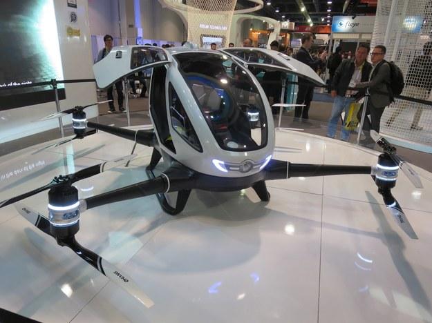 Dron EHang 184 / inf. prasowa /&nbsp