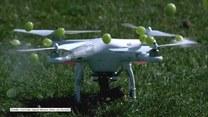 Dron jako akcesorium kuchenne? Tak powstaje niecodzienna sałatka!