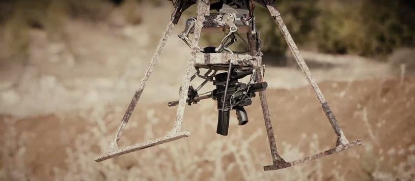 Dron TIKAD - według producenta, może on zastąpić prawdziwych żołnierzy /materiały prasowe