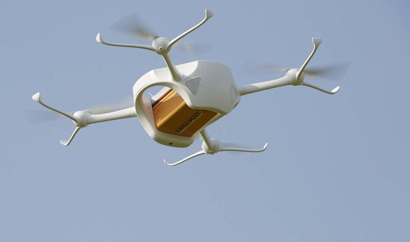Dron zamiast listonosza    Fot. Swiss Post /materiały prasowe