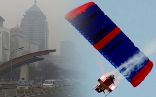Drony takie jak ten będą oczyszczać chińskie niebo /materiały prasowe