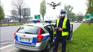 Drony w służbie policji