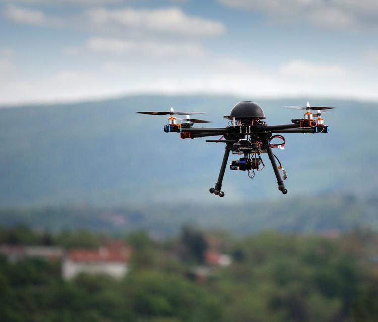 Drony wykorzystają sztuczną inteligencję /123RF/PICSEL