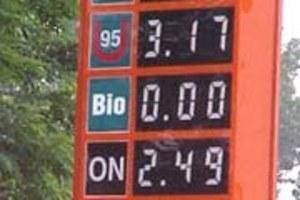 Droższe bio-paliwo