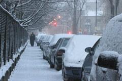 Drugi atak zimy w stolicy