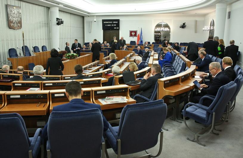Drugi dzień posiedzenia Senatu /Rafał Guz /PAP
