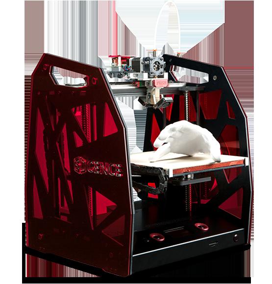 Drukarka 3DGence One. /materiały prasowe