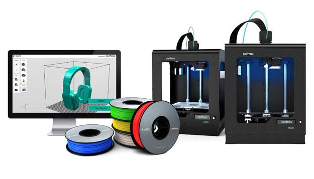 Drukarki 3D Zortrax dostępne są w 49 krajach świata. /materiały prasowe