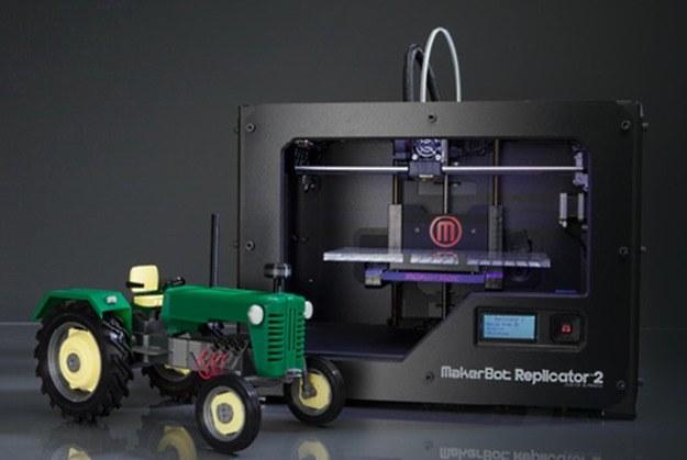 Drukarki firmy MakerBot, jak na przykład MakerBot Replicator - są popularne także w Polsce /materiały prasowe
