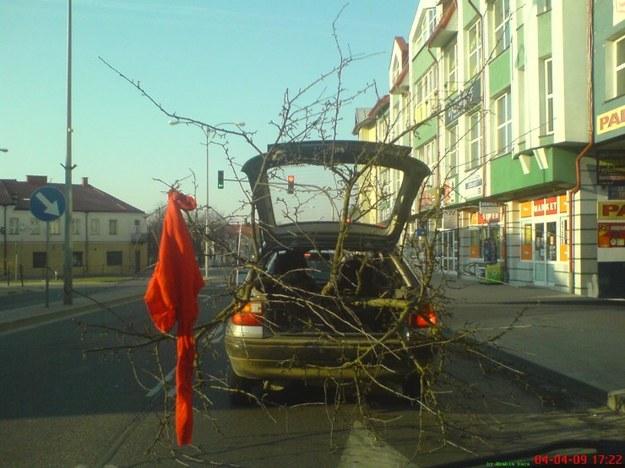Drzewko zapachowe do auta