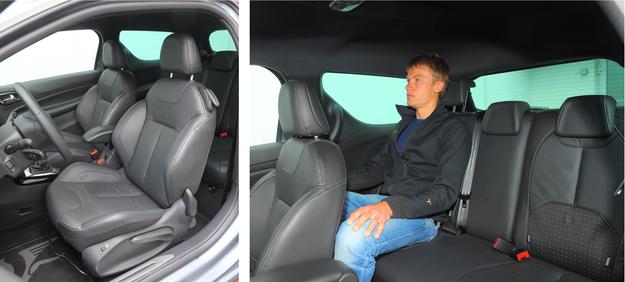 DS3 to auto raczej dla dwóch osób, miejsca z tyłu należy traktować bardziej jako awaryjne. /Motor