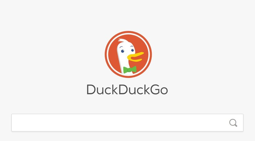 DuckDuckGo jest według twórców wyszukiwarką dbającą o prywatność /materiały prasowe