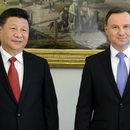 Dudowie powitali prezydenta Chin