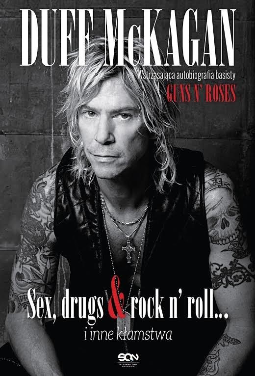 Duff McKagan na okładce swojej autobiografii /materiały prasowe