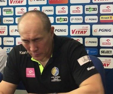 Dujszebajew po wygranej Vive Tauronu z Orlenem Wisłą