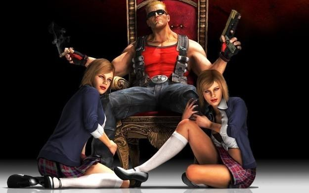 Duke Nukem Forever - motyw graficzny /Informacja prasowa