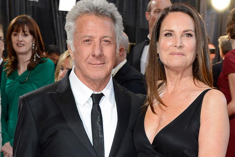Dustin i Lisa Hoffman mają czwórke dzieci. Są razem ponad 30 lat /Getty Images