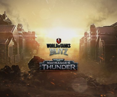 Dwa czołgi kosmicznych marines z Warhammer 40,000 w World of Tanks Blitz