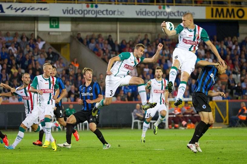 Dwa lata temu Śląsk toczył zażarte boje z Club Brugge. Jak będzie tym razem? /Kurt Desplenter /AFP