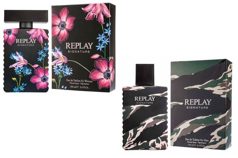 Dwa nowe zapachy od Replay /materiały prasowe